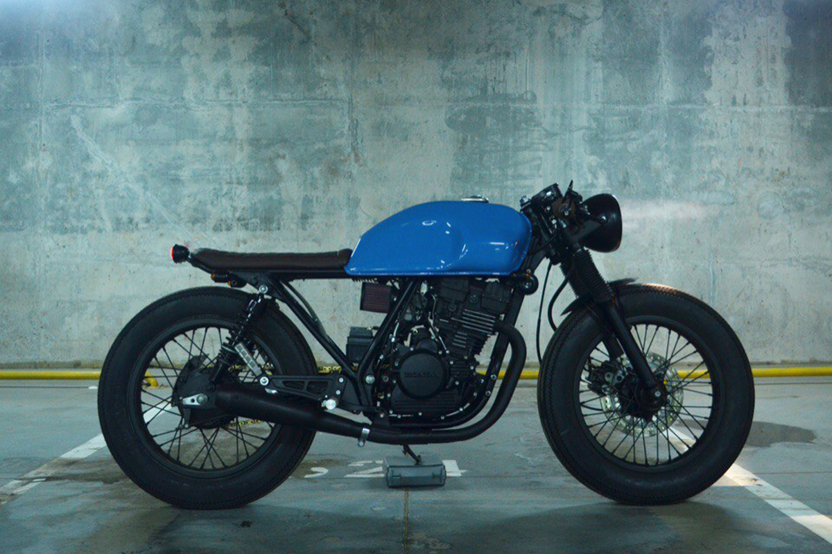 Honda GB250 Bratstyle Custom